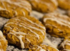 Yum. . .Candice's Low Carb Iced Pumpkin Cookies {gluten free}