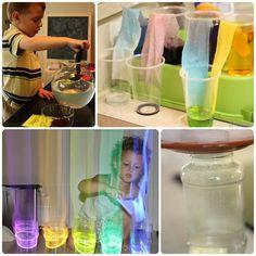 4 divertidos experimentos para ni�os con agua