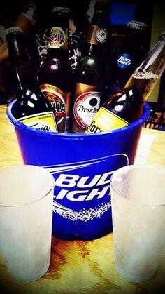 We also have beers.  Bud Light, Medalla, Victoria, Corona & Presidente.
