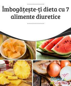 #Îmbogățește-ți dieta cu 7 alimente #diuretice  Dacă vrei să combați #retenția de apă și să îți #detoxifici organismul, este indicat să incluzi alimente diuretice și bogate în vitamine în dieta ta zilnică.