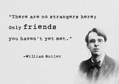 W. B. Yeats on friendship