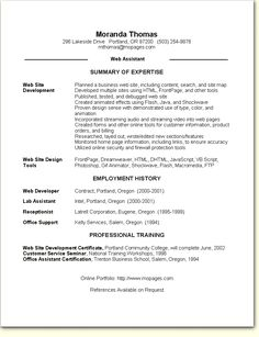 Image Result For Skill Based Resume Template  ChildS Play