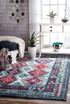 Modern Area Rugs Contemporary Geometric Rugs 4x6 Tribal A... https://www.amazon.com/dp/B01N299653/ref=cm_sw_r_pi_dp_x_gUlNybS08SK08
