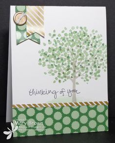 stampercamper.com - TSSC354 - I just LOVE this new set from the Occasions Mini and it was PERFECT for the Technostamper Monday Lunchtime Sketch challenge.  All the details on my blog.  Set:  Sheltering Tree