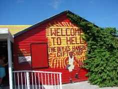 I've been to Hell. Grand Cayman, that is.