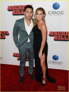 Carlos Pena & Alexa Vega: 'Machete Kills' Premiere