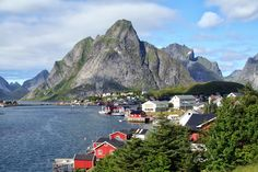 Village of Reine in the Lofoten Island, Northern Norway