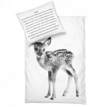 By Nord - Baby sengesæt bambi/rådyr Duvet Sets, Duvet Cover Sets, Pillow Covers, Deer Bedding, Linen Bedding, Cot Bedding, Baby Duvet, Pillow Set, Pillow Talk