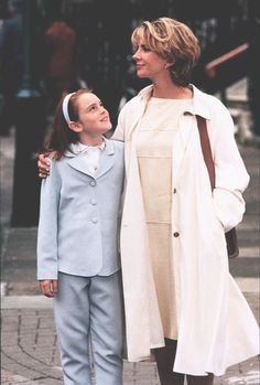 I always loved the mom's hair and fashion :)
