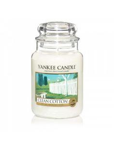 Clean Cotton Yankee Candle Giara Grande