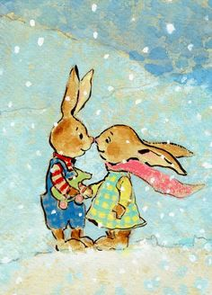 Bunnies - Lita Judge Wilder Farm Blog