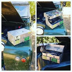 Not sure we would have made it back without this team member. #bushmechanics #toolbox #serieslandrover