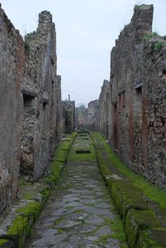 Pompeii Ruins Street - Italy by Adam C. Williams, via Flickr