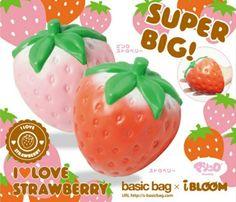 Ibloom strawberry kawaii squishy