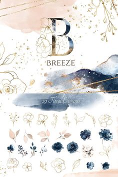 Ad: Watercolor collection Breeze including floral arrangements, backgrounds, frames, floral elements and seamless patterns by Lisima Watercolor Pattern, Pattern Drawing, Watercolor Illustration, Watercolor Background, Watercolor Flowers, Watercolor Paintings, Free Hand Drawing, Art Graphique, Planner