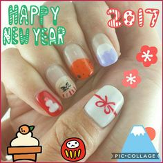 Happy New Year Nail 2017