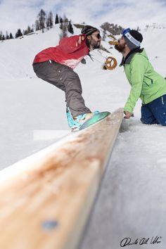 Brezel time at Arabba snowpark #snowboard  Davide Dal Mas  www.davidedalmas.com
