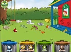 Jugando a separar los residuos... http://escueladeblanca.blogspot.com.es/2013/11/juego-separ-los-residuos.html