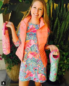Lilly Pulitzer when you find your sorority sister on pinterest