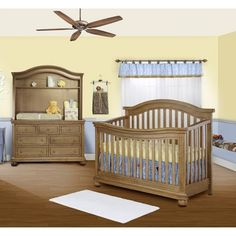 Sorelle Vista Elite 3 Piece Nursery Set In Vintage Frost