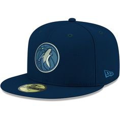 detailed pictures 8f0c4 706a4 Men s Minnesota Timberwolves New Era Navy Official Team Color 59FIFTY  Fitted Hat