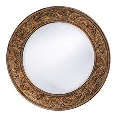 Howard Elliott Glencoe Wall Mirror - 33 diam. in.