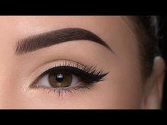 Perfect Eyebrow Tutorial / Anastasia brow pomade chocolate - YouTube