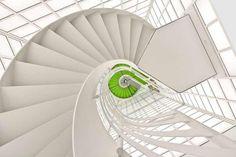 Escaleras, Museo Deutsche Kinemathek, Alemania,