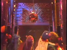 Grover, Ernie, and the Sesame Street muppets Get Lucky with some Daft Punk featuring Pharrell Williams. Sesame Street Muppets, Learn German, Green Monsters, Alphabet, Daft Punk, Disco Ball, Youtube, Popular Culture, Raiders