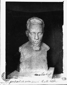 RILKE sculpture by his wife Clara WESTHOFF