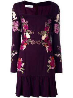 ZUHAIR MURAD Floral Print Dress. #zuhairmurad #cloth #dress