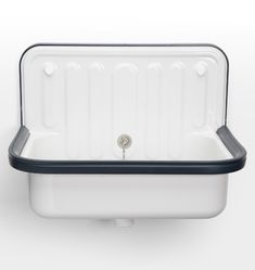The Bucket Sink 505 by Alape, perfectly simple yet sturdy, and easy to install. The Alape Bucket Sink is awash with industrial-chic style. Originally designed for garages and workshops. Alape have substantially upgraded the quality of the Bucket Sink des