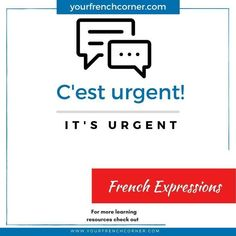Your French Corner is the go-to website for  motivated and result-oriented French language learners. French Verbs, Ways Of Learning, Learning Resources, Learning French, Learn French Online, French Expressions, How To Teach Kids, European Languages, French Resources