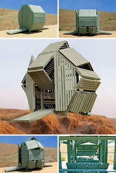 Transforming Architectural Eco Cube