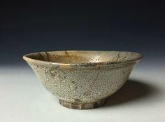 Antique Korean Joseon Period Chawan Tea Bowl with Kintsugi Ceramic Cups, Ceramic Pottery, Korean Pottery, Korean Art, Asian Art, Chawan, Kintsugi, Tea Bowls, Tea Ceremony
