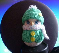 снеговичок по МК Светланы Комаровой - Мое рукоделие - Галерея - Форум почитателей амигуруми (вязаной игрушки)