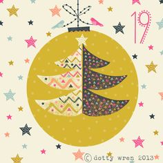 Illustration Christmas dottywrenstudio