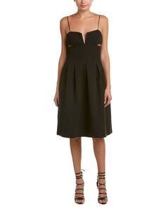KENDALL   KYLIE Womens Box Pleat Cami Dress Black XSmall >>> Want additional info? Click on the image. (This is an affiliate link) #CasualDresses