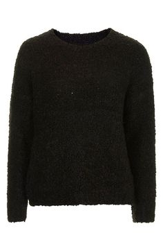 Topshop Bouclé Pullover Sweater   Nordstrom
