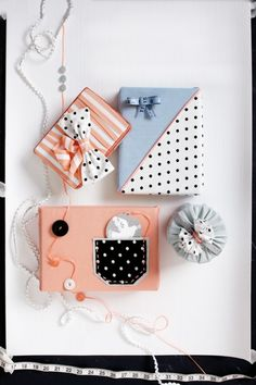 gift wrapping  --  fun packaging !