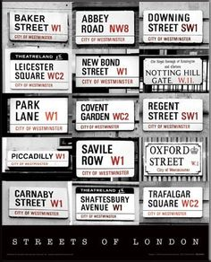- STREETS OF LONDON -