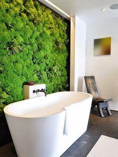 Inspiracje w moim mieszkaniu {Inspiration in my apartment}: Pionowe ogrody jako dekoracja wnętrz. Trend na 201...