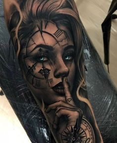 Image could contain: one or more people tattoos d diy tattoo im. - Image could contain: one or more people tattoos d diy tattoo images - Skull Girl Tattoo, Girl Face Tattoo, Girl Arm Tattoos, Best Sleeve Tattoos, Sleeve Tattoos For Women, Tattoo Sleeve Designs, Tattoo Designs Men, Body Art Tattoos, Hand Tattoos