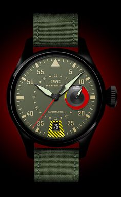 IWC, mimicking the radial structure of an aircraft engine. Amazing Watches, Beautiful Watches, Cool Watches, Watches For Men, Top Gun, Rolex, Dream Watches, Luxury Watches, Der Gentleman