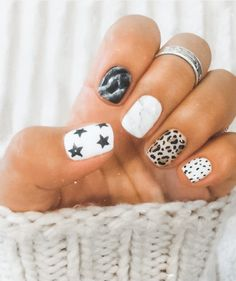Cute Gel Nails, Funky Nails, Acrylic Nails Coffin Short, Best Acrylic Nails, Stylish Nails, Trendy Nails, Western Nails, Country Nails, Back To School Nails