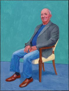 David Hockney David Juda, 22, 23 y 25 de marzo de 2015 (David Juda, 22nd, 23rd, 25th March 2015) de 82 retratos y 1 bodegón Acrílico sobre lienzo (de un conjunto de 82) 121,92 x 91,44 cm © David Hockney Crédito de la foto: Richard Schmidt
