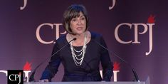 """""""As a profession, let's fight for what is right,"""" CNN's Christiane Amanpour said. """"Let's fight for our values."""""""