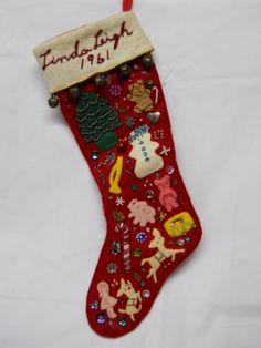 More handmade holiday felt love- stockings and tree skirt. I ...