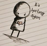 ...I try so hard to be brave, to have faith, to be strong. but today it is just hurting... still