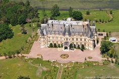 ✈️ Photo aérienne de : Château de Mortefontaine - Oise (60)